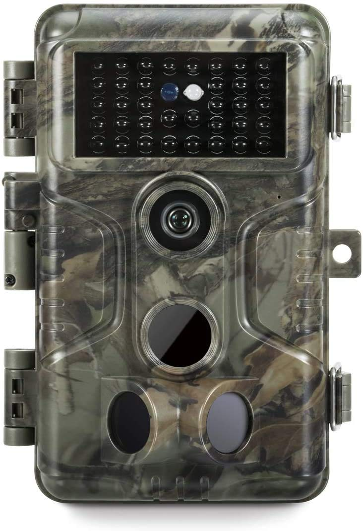 GardePro A3 Trail Camera (2020), 20MP, 1080P H.264 HD Video, Clear 100ft No Glow Infrared Night Vision, 0.1s Trigger Speed, 82ft Motion Detection, Waterproof Cam for Wildlife Game Trail, Deer Hunting