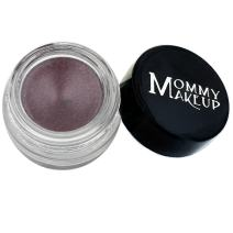Mommy Makeup Waterproof Stay Put Gel Eyeliner with Semi-Permanent Micropigments - smudge-proof, long wearing, paraben-free - Black Orchid (Luscious metallic black burgundy)