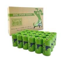 PET N PET Poop Bags 360 Count Poop Bags Refill Rolls EPI Additive Eco Friendly Unscented Dog Poop Bags Leak-Proof and Strong Premium Dog Waste Bag