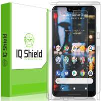 IQ Shield Full Body Skin Compatible with Google Pixel 3 XL + LiQuidSkin Clear (Full Coverage) Screen Protector HD and Anti-Bubble Film