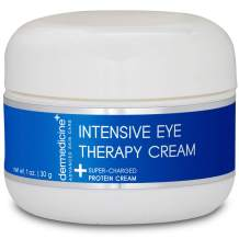 Intensive Therapy Eye Cream w/Peptides, Jojoba Oil, Arnica, Rice Bran | May Help Reduce The Appearance of Under Eye Puffiness, Dark Circles & Fine Lines | Face 1 oz / 30 g
