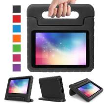 2017 All-New Fire 7 Tablet Case, LTROP Protective Kid-Proof Case for Fire 7 (2017 Release, 7th Generation), Kids Case with Stand, Fire 7 Case for Kids – Black