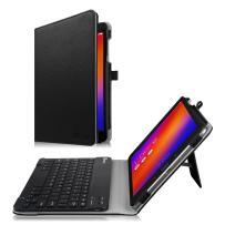 Fintie Keyboard Case for Asus ZenPad 3S 10 Z500M / ZenPad Z10 ZT500KL - Slim Fit Folio Stand Cover w/Detachable Wireless Bluetooth Keyboard for Verizon Asus ZenPad Z10 / 3S 10 9.7-Inch Tablet, Black