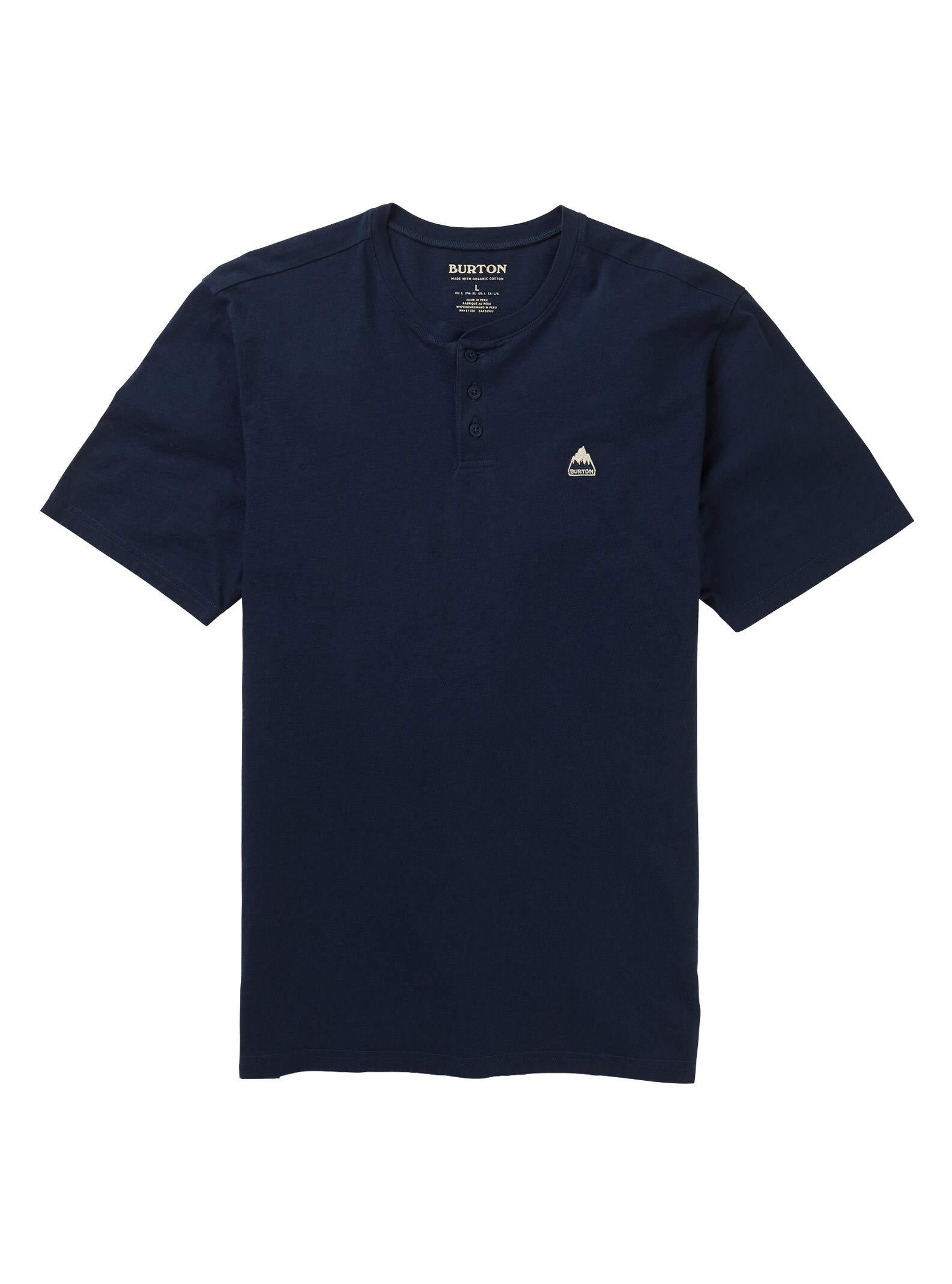 Burton Men's Skreehaven Short Sleeve T-Shirt, Dress Blue, Large