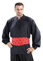 ThePirateDressing Medieval Poet's Pirate Cap'n Quincy Cosplay Costume Shirt C1099