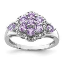925 Sterling Silver Diamond Pink Quartz Band Ring Gemstone Fine Jewelry For Women Gift Set