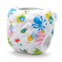 Storeofbaby Baby Reusable Swim Diaper Adjustable Washable Infant Swimwear
