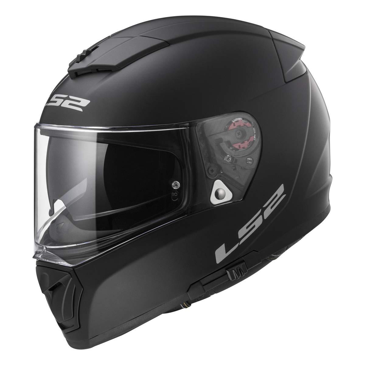 LS2 Helmets Full Face Street Breaker Helmet (Matte Black - X-Small)