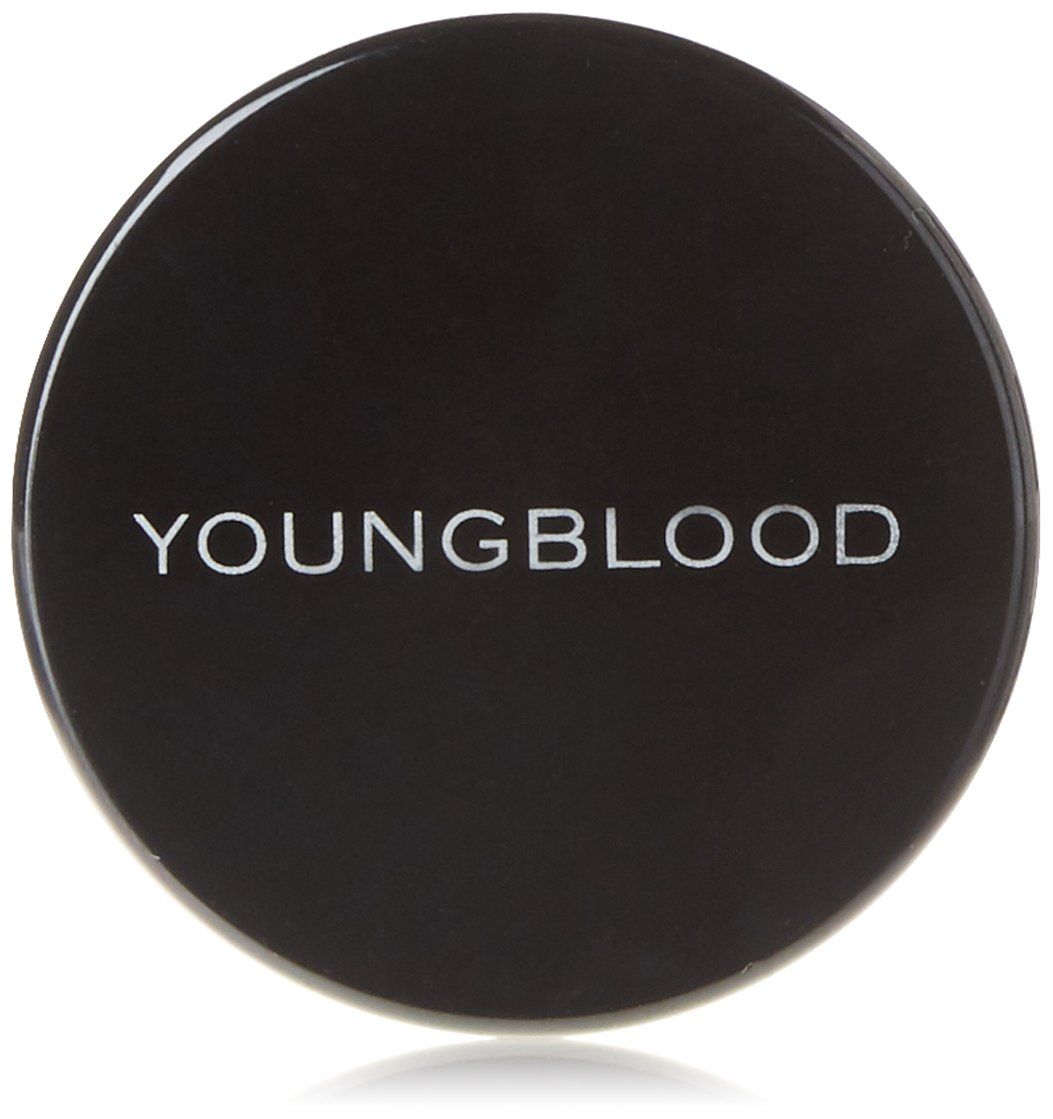 Youngblood Clean Luxury Cosmetics Loose Mineral Rice Setting Powder, Dark   Matte Natural Translucent Loose Face Finishing Setting Powder Foundation   Vegan, Cruelty-Free, Paraben-Free