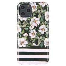 Dimaka iPhone 11 Pro Case, Cute Floral Flower Stripe Cover for Girls,Ultral Slim Thin Drop Proof Protective Bumper for iPhone 11 Pro