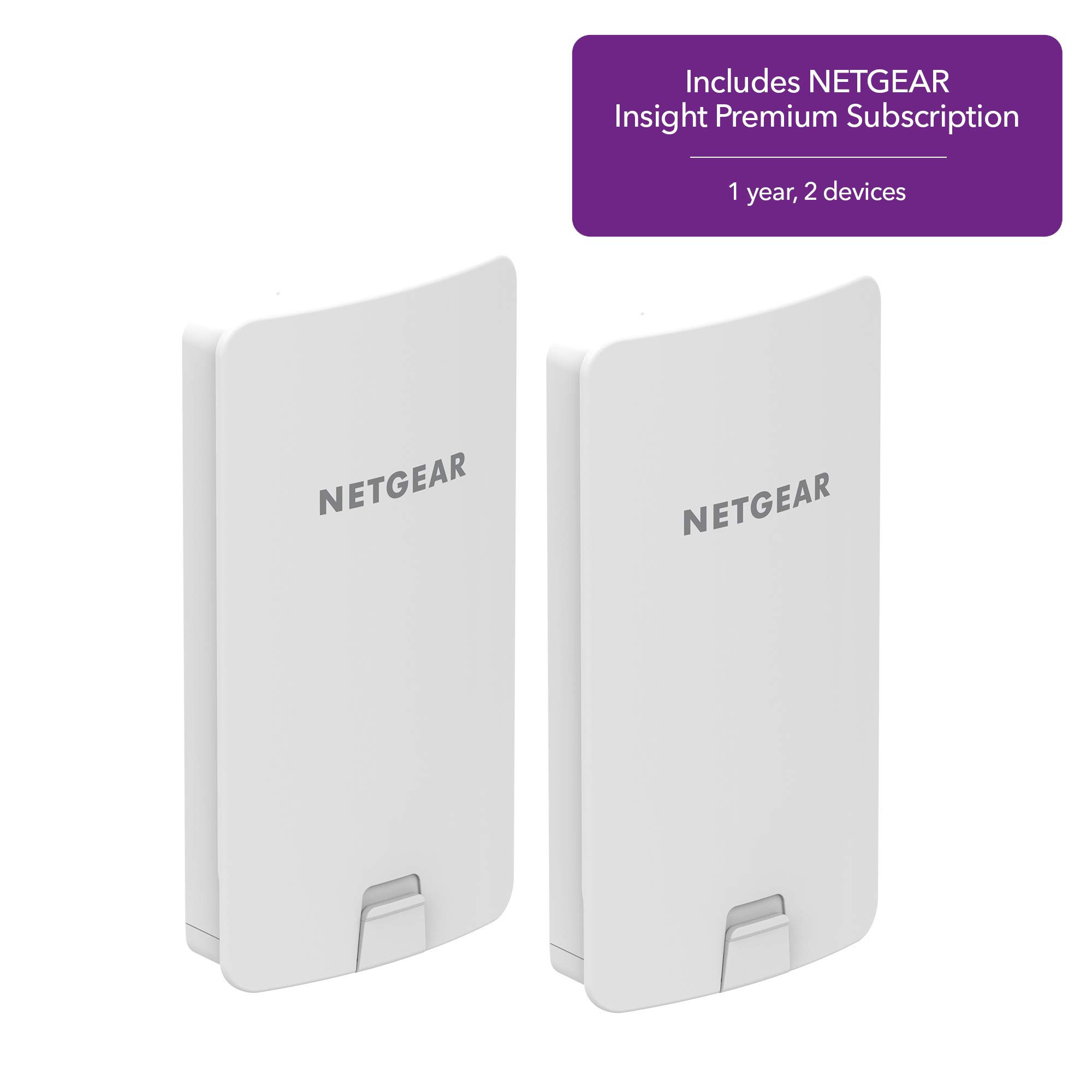 NETGEAR Wireless AirBridge Kit (WBC502) for Long Range Multi-Point or Point-to-Point connectivity, up to 9000 ft, PoE Powered, Insight Premium Included