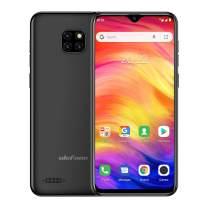 Ulefone Note 7 Cell Phones Unlocked Android 9.0, Dual Sim Unlocked Cell Phones 6.1'' 1GB+16GB 8MP Three Camera 3500 Mah Battery Face ID GPS WiFi Bluetooth +Free Case (Black)