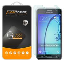 Supershieldz (2 Pack) for Samsung (Galaxy On5) Tempered Glass Screen Protector, Anti Scratch, Bubble Free