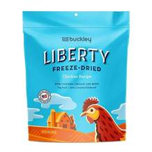 Buckley Liberty Dog Food Topper & Mixer - 100% USA Made and Sourced Freeze Dried Grain Free Dog Food - Beef, Chicken and Lamb - 10 & 20 oz