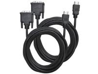 Direct Access Tech. Single Link HDMI to DVI Cable (10'/3 m) - Two Pack (D0295)