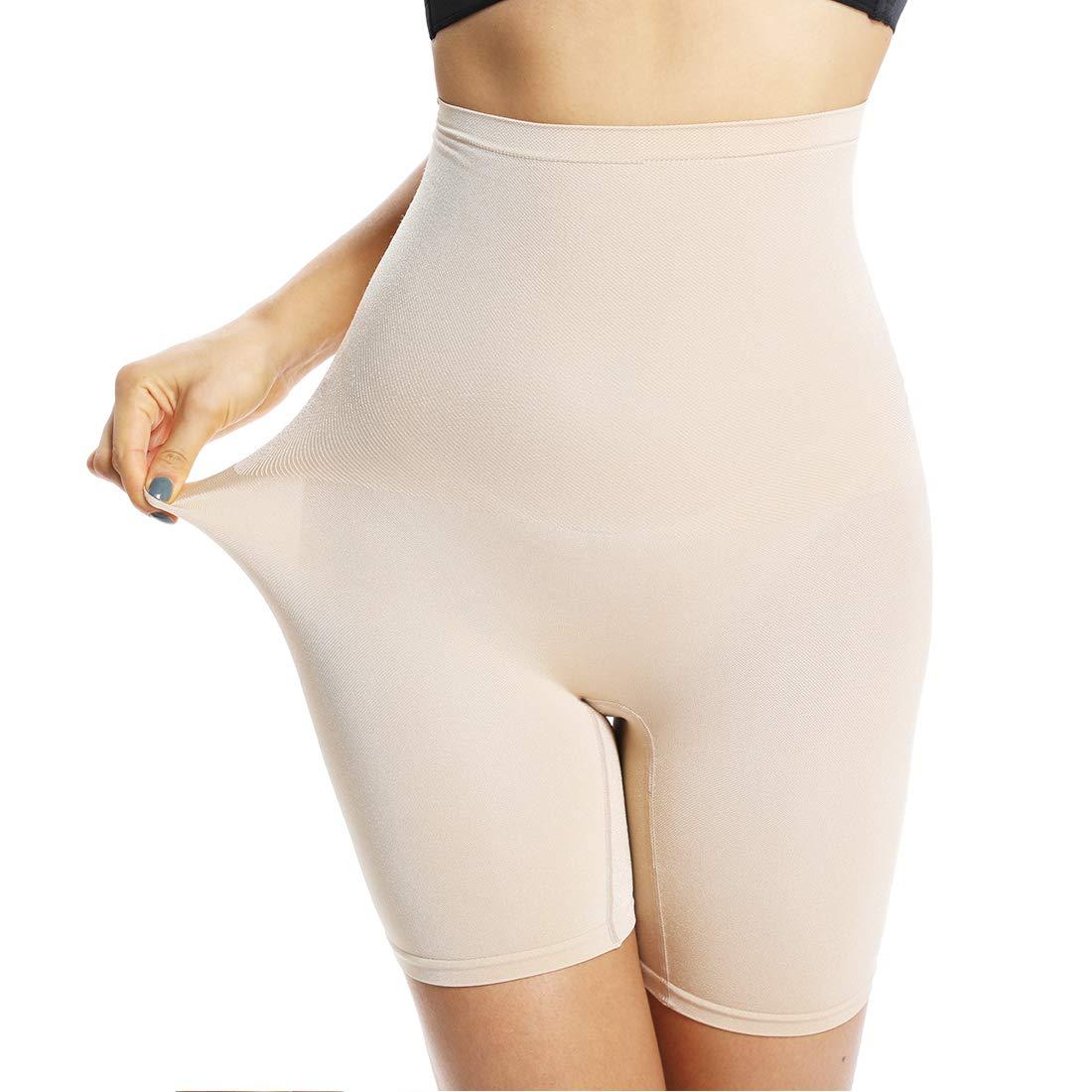 Women's Thigh Slimmer Shapewear Panties Anti Chafing Slip Shorts for Under Dress Seamless Girdle Body Shaper