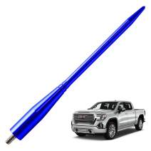 JAPower Replacement Antenna Compatible with GMC Sierra 1999-2006   6.75 inches-Blue