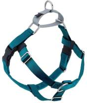 2 Hounds Design Freedom No Pull Dog Harness | Adjustable Gentle Comfortable Control for Easy Dog Walking |for Small Medium and Large Dogs | Made in USA