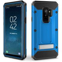 Evocel Explorer Series Pro Compatible with Galaxy S9+ Plus (SM-G965) Heavy Duty Protection Rugged Holster Case with Kickstand – Blue