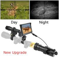 """BESTSIGHT DIY Digital Night Vision Scope for Rifle Hunting with Camera and 5"""" Portable Display Screen"""