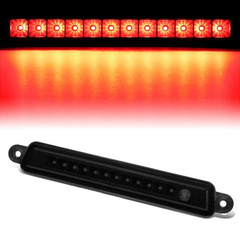 Compatible with Armada//Infiniti QX56 04-15 Full LED Tail Brake Light Rear Stop Lamp Tinted