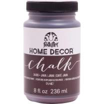 FolkArt 34165 Home Decor Chalk Furniture & Craft Paint in Assorted Colors, 8 ounce, Java