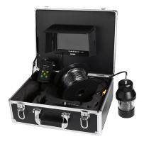 Lixada Fish Finder Underwater, Fishing Camera 7inch LCD Monitor 1000TVL HD DVR 18 LEDs 360 Degree Rotating Camera (20m/50m/100m Cable)