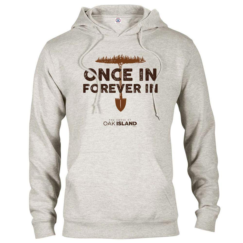 The Curse of Oak Island Once in Forever Hooded Sweatshirt