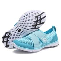 EQUICK Kids Water Shoes Boys & Girls Kids Aqua Shoes Swim Shoes Athletic Sneakers Lightweight Sport Shoes (Toddler/Little Kid/Big Kid)