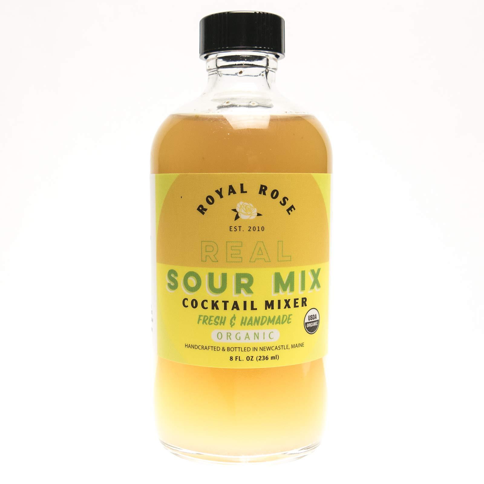 Royal Rose Organic Sour Drink Mix, 8 oz