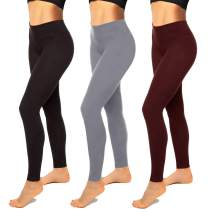 Womens Leggings-High Waisted Black Leggings for Women-Premium Jeggings for Workout, Yoga