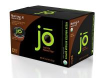 MORNING JO: 12 Cup Organic Breakfast Blend Single Serve Coffee for Keurig K-Cup Brewers Keurig 1.0 & 2.0 Compatible Eco-Friendly Cup, Light/Medium Roast Non-GMO Gluten Free Gourmet Coffee by Jo Coffee