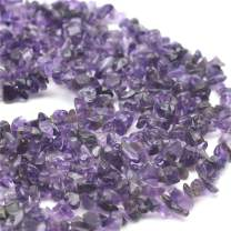 """Oameusa 5-7mm Agate Chips Amethyst Agate Chips Agate Beads Gemstone Beads Loose Beads Agate Beads for Jewelry Making 34"""" 1 Strand per Bag-Wholesale"""