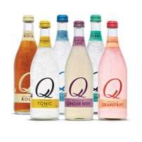 Q Mixers Variety Pack, Premium Cocktail Mixer, 500 mL (6 Bottles)