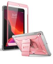 SUPCASE Designed for iPad 10.2 2019 Case, [Unicorn Beetle Pro Series] with Built-in Screen Protector and Dual Layer Full Body Rugged Protective Case for iPad 10.2 Inch 2019, iPad 7th Generation (Rose)