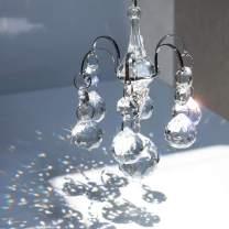 H&D HYALINE & DORA Crystals Ball Prisms Suncatcher Hanging Ornament Hanger Rainbow Maker with Hook
