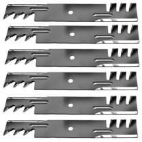 "6PK Mulching Blades 54"" Hustler XR7 Super Z 601124 797696 797696X 797696Y"