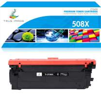 True Image Compatible Toner Cartridge Replacement for HP 508X CF360X 508A CF360A Color Laserjet Enterprise M553dn M553n M553x M577dn M577Z M577f M577c M552dn M577 M553 Printer Ink (Black, 1-Pack)
