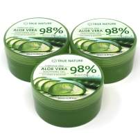 Aloe Vera 98% Soothing Gel Jar Type - Moisture Aloe Vera Gel KPI - 3 Packs