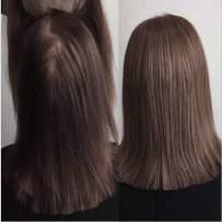 Full Shine Crown Hair Topper Human Hair 14 Inch Mono Base Wiglets Silky Straight Hairpiece Clip In Hair Topper Brown Color 4 Real Human Hair Extensions For Women Mono Top Hair Piece