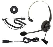 DailyHeadset RJ9 NC Mono Office Phone Corded Headset for Analog Office Landline Phone Aastra Avaya Nortel Digium Polycom Mitel ShoreTel NEC AltiGen TalkSwitch Telephones
