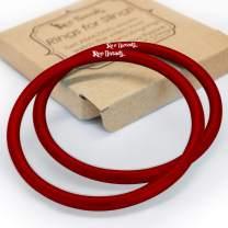 Roo Threads Aluminum Rings for Baby Slings, Red