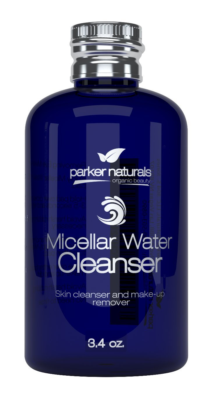 Natural Micellar Water One-Step Cleansing Wonder Quickly and Gently Removes Makeup, Dirt, Grime with No Rinsing. Leaves You Dewy Fresh and Clean