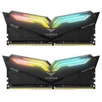 TEAMGROUP T-Force Night Hawk RGB 4000MHz 16GB Kit (2x8GB) CL18 DDR4 SDRAM (PC4-32000) Desktop Memory Module ram TF1D416G4000HC18EDC01 (Black)