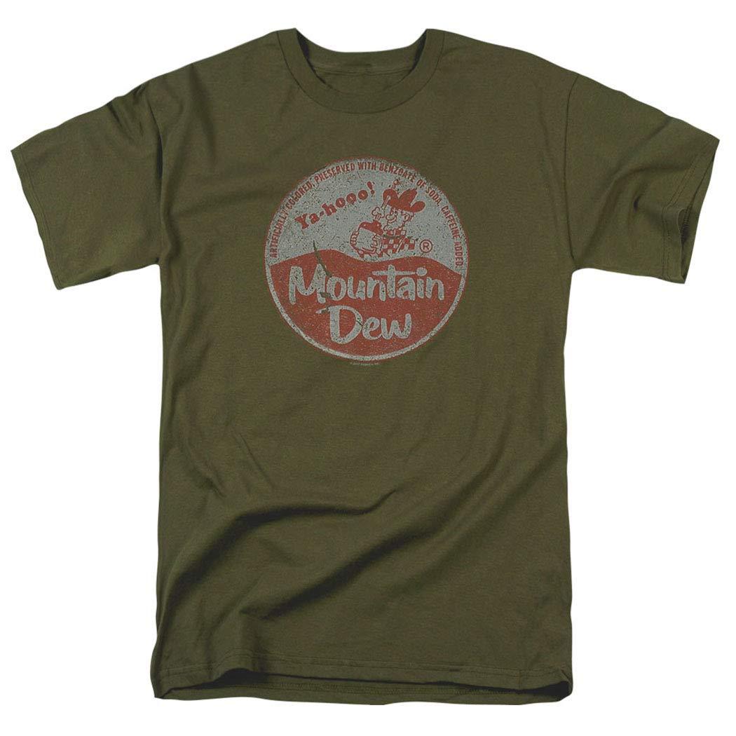 Mountain Dew Vintage Cap T Shirt & Stickers