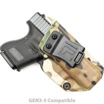 Tulster IWB Profile Holster in Right Hand fits: Glock 26/27/28/33