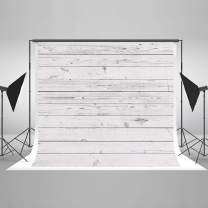 Kate 10x6.5ft White Wood Photography Backdrop White Wood Wall Photo Background White Wood Pattern Photo Stuido Backgrounds