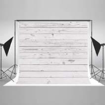 Kate 7x5ft Wooden Photography Backdrop White Wood Floor Photo Background Portrait Backdrop Photo Studio Props