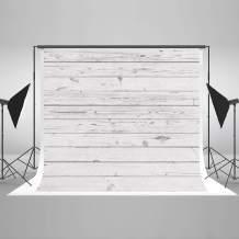 Kate 10x6.5ft White Wood Photography Backdrop White Wood Wall Photo Background White Wood Pattern Photo Stuido Backgrounds