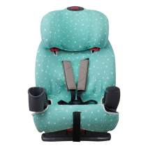JANABEBE Cover Liner for car seat Graco Nautilus (Mint Sparkles)